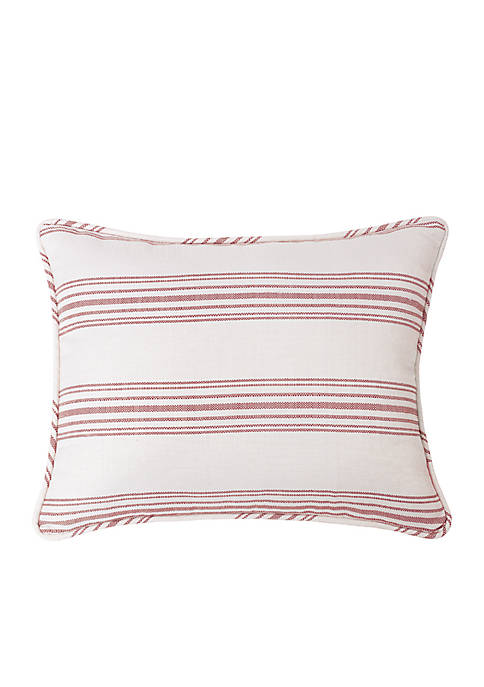 HiEnd Accents Prescott Stripe Standard Pillow Shams