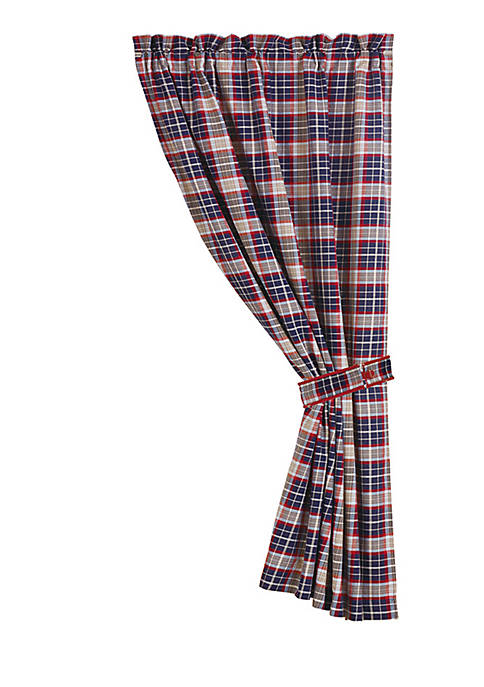 HiEnd Accents South Haven Plaid Panel 18-in. x