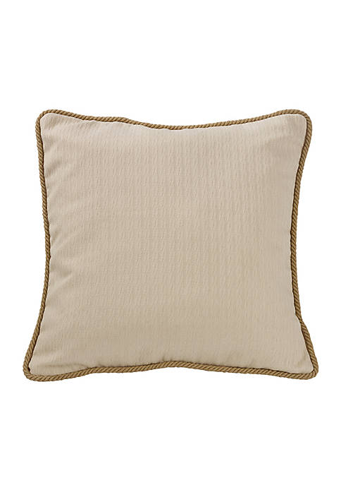 HiEnd Accents South Haven Knitted European Sham 27-in.