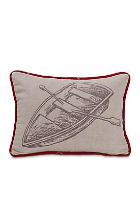 South Haven Rowboat Pillow 16in. x 21-in.