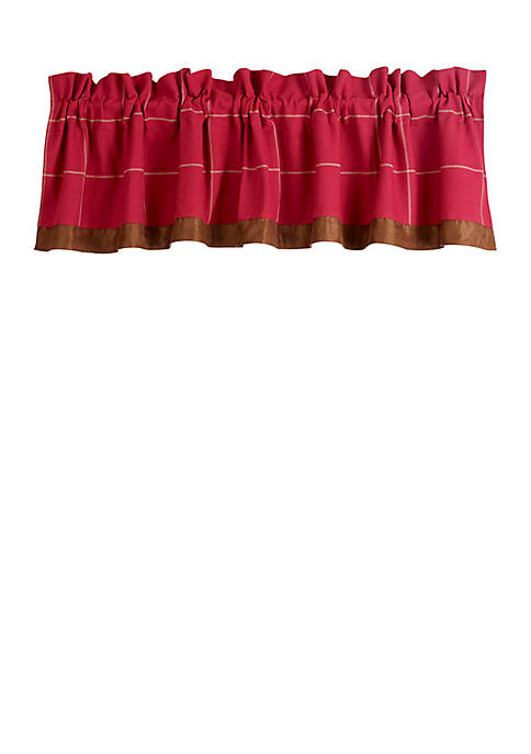 HiEnd Accents South Haven Valance 48-in. x 84-in.
