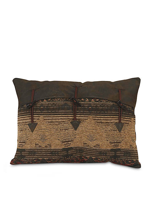 HiEnd Accents Sierra Southwestern Oblong Pillow 16-in. x