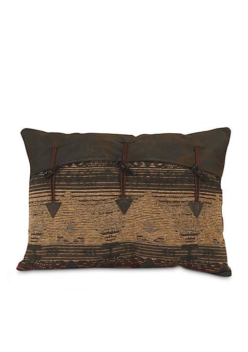 HiEnd Accents Sierra Southwestern Oblong Pillow 16-in. x