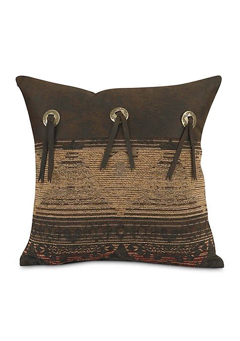 HiEnd Accents Sierra Square Pillow 16-in. x 16-in.