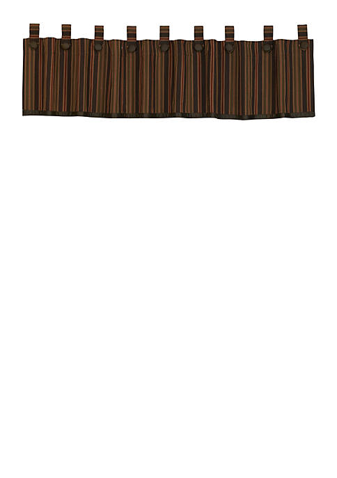 HiEnd Accents Wilderness Ridge Valance 18-in. x 84-in.