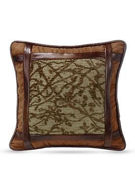 Highland Framed Tree Decorative Pillow