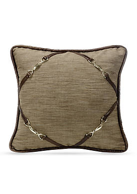 Highland Decorative Pillow with Buckle Corners