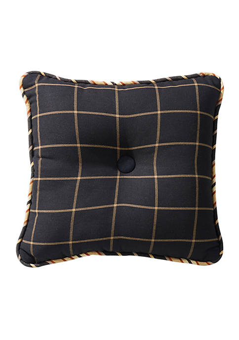 HiEnd Accents Ashbury Tweed Decorative Pillow 18-in. x
