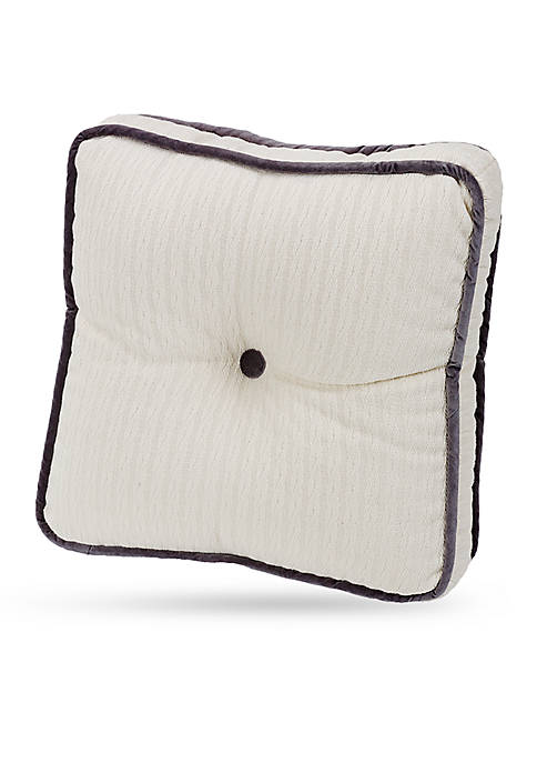 HiEnd Accents Whistler Tufted Boxed Pillow 18-in. x