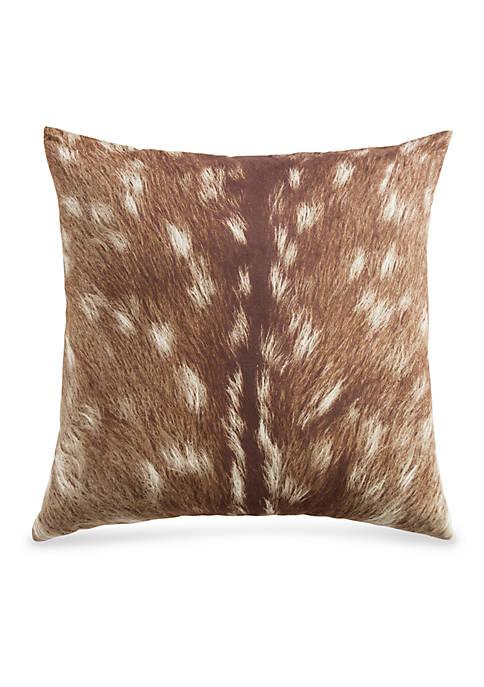 HiEnd Accents Huntsman Fawn Decorative Pillow