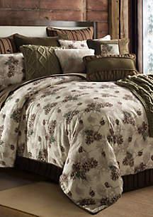 HiEnd Accents Forest Pine Comforter Set