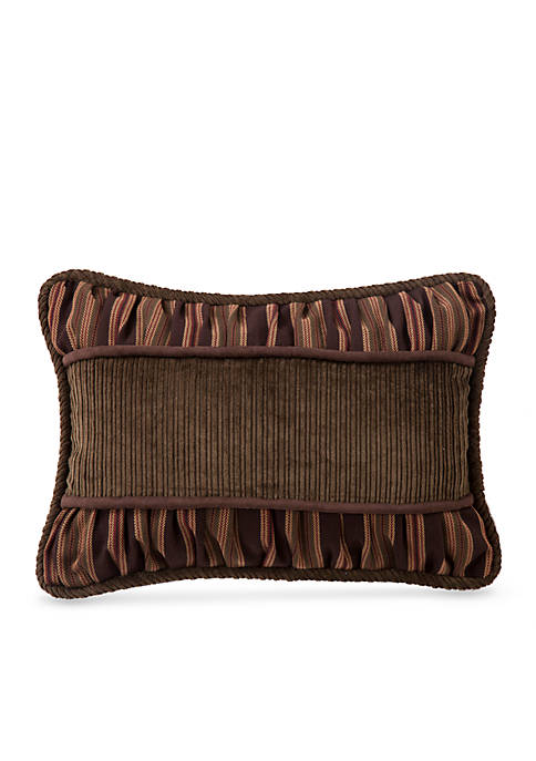 HiEnd Accents Forest Pine Corduroy Decorative Pillow