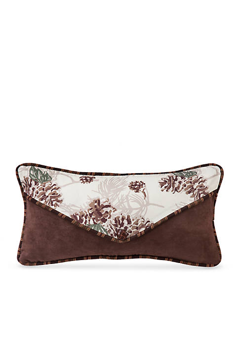 HiEnd Accents Forest Pine Envelope Decorative Pillow