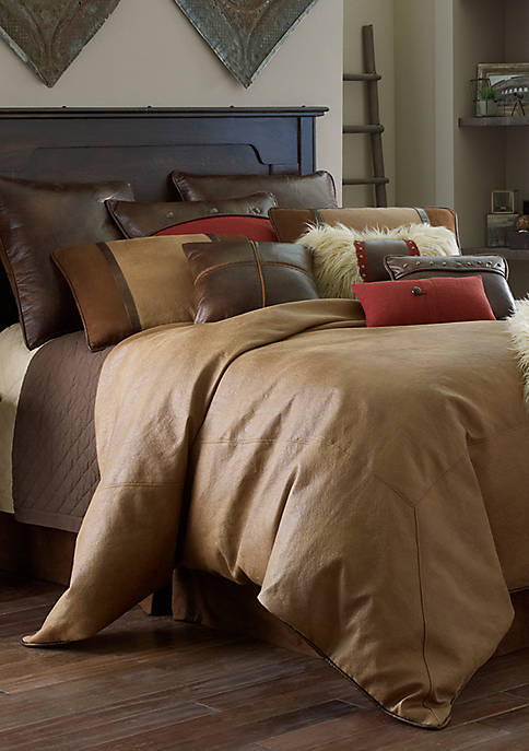 HiEnd Accents Brighton Full Comforter Set 80-in. x