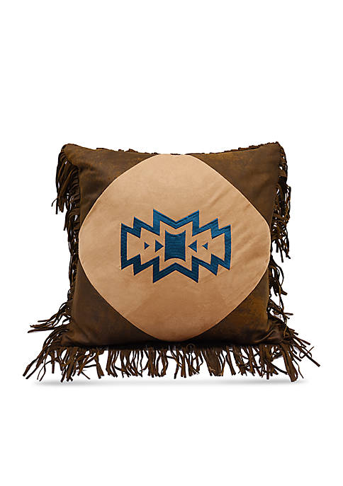 HiEnd Accents Southwest Emblem Decorative Pillow