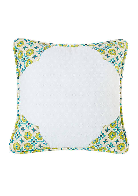 Scalloped Edges Pillow