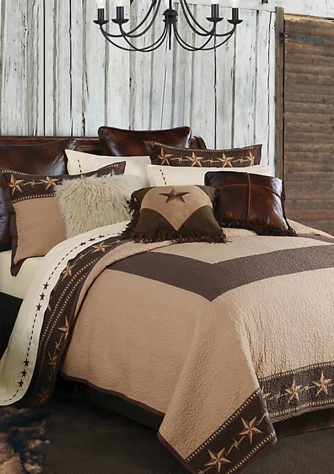 HiEnd Accents Star Ranch Quilt Set