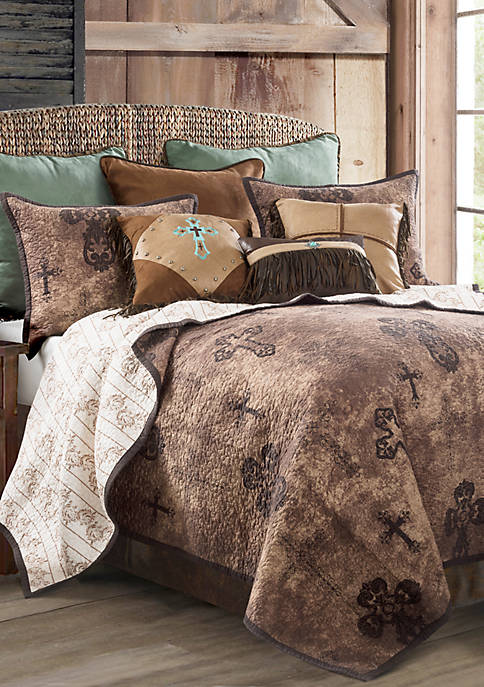 HiEnd Accents Ironwork Quilt Set