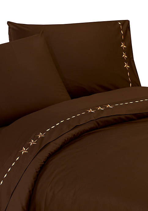 HiEnd Accents Luxury Star Sheet Set