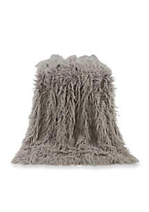Mongolian Faux Fur Throw Blanket