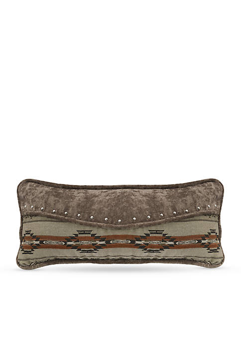 HiEnd Accents Silverado Envelope Decorative Pillow With Studs