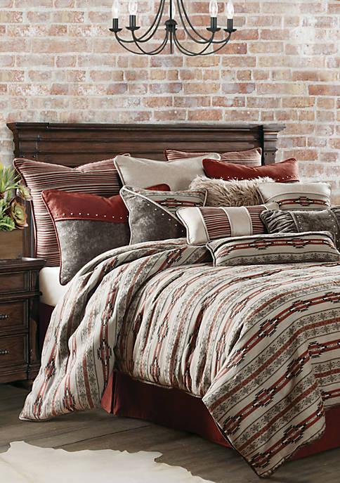 HiEnd Accents Silverado Comforter Set