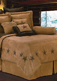 HiEnd Accents Luxury Star Full Comforter Set 80-in. x 90-in.