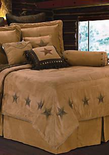 HiEnd Accents Luxury Star King Comforter Set 110-in. x 96-in.