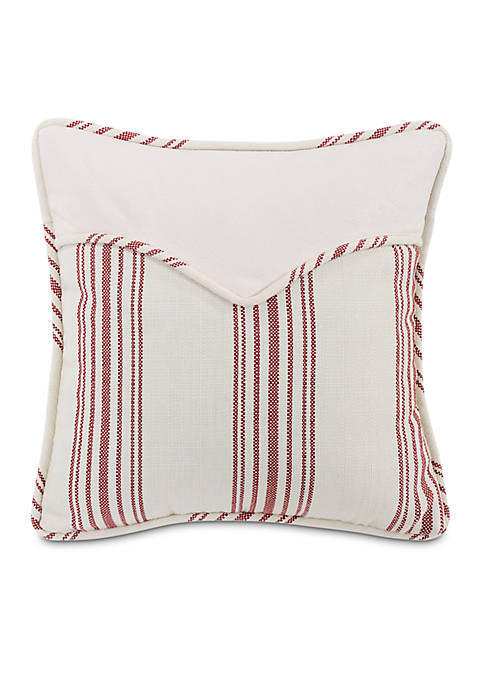 HiEnd Accents Bandera Striped Envelope Pillow 18-in. x
