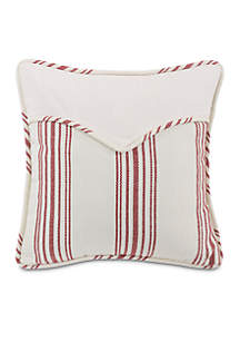 Bandera Striped Envelope Pillow 18-in. x 18-in.