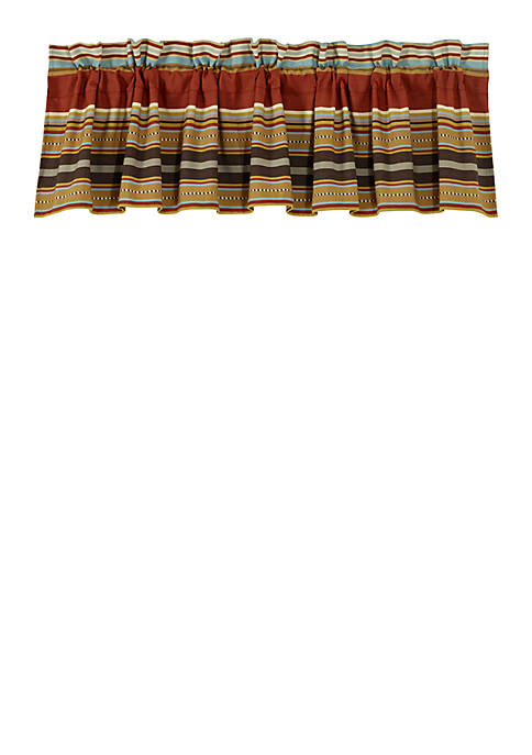 HiEnd Accents Calhoun Striped Valance 18-in. x 84-in.