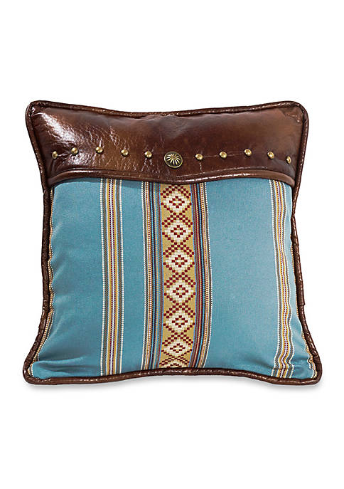 HiEnd Accents Rudioso Striped Decorative Pillow 18-in. x