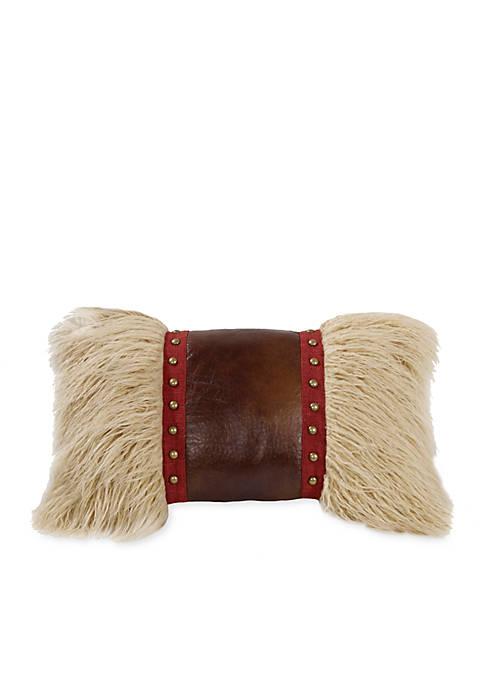 HiEnd Accents Ruidoso Fur Decorative 12-in. x 19-in.