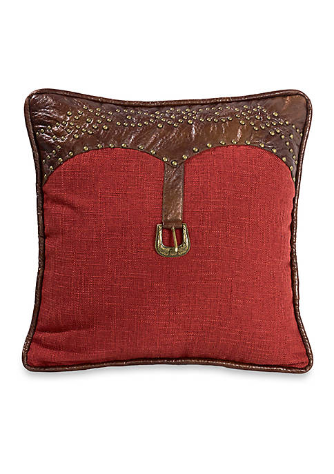 HiEnd Accents Ruidoso Square Decorative Pillow 18-in. x