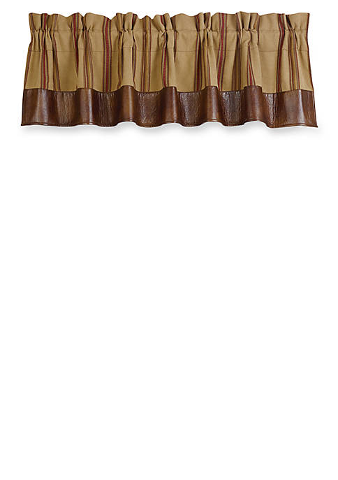 HiEnd Accents Ruidoso Striped Valance 18-in. x 84-in.