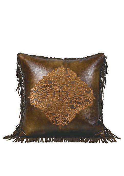 HiEnd Accents Austin Square Decorative Pillow 18-in. x