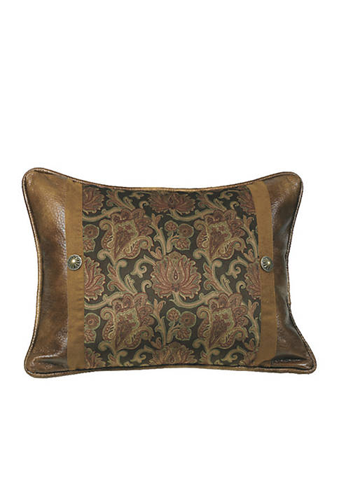 HiEnd Accents Austin Rectangle Decorative Pillow 16-in. x