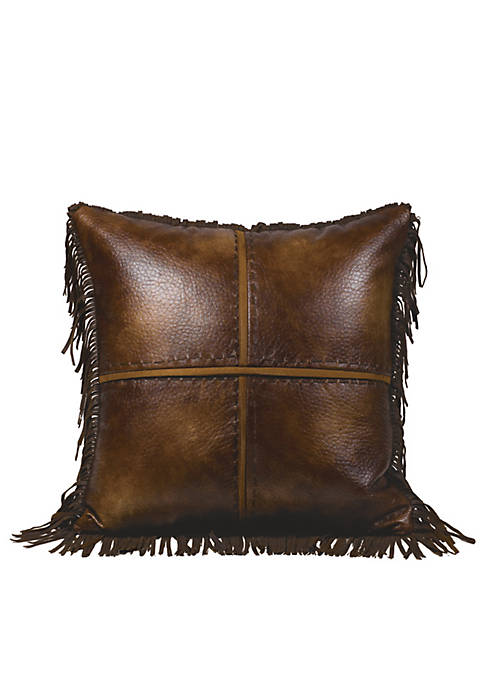 HiEnd Accents Austin Square Decorative Pillow 18-in. x