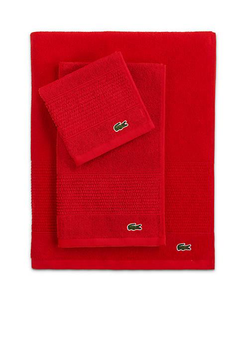Lacoste Legend Bath Towel Collection