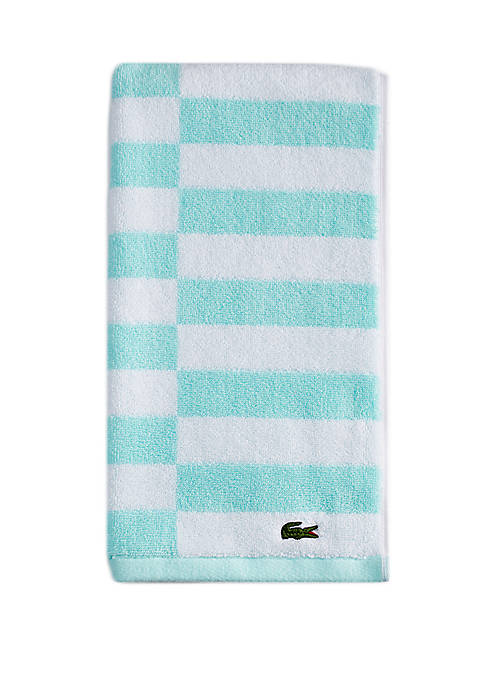 Offset Stripe Hand Towel Collection