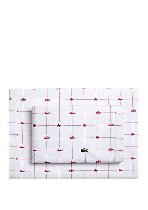Lacoste Slice Sheet Set
