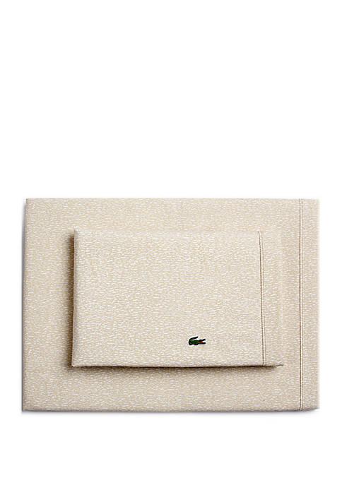 Lacoste Camo Sheet Set