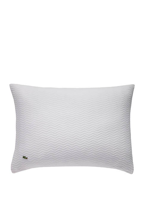 Lacoste Chevron Quilted Sham