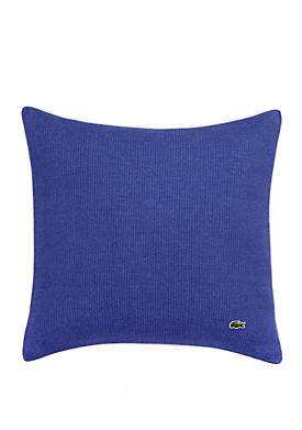 Auckland Caviar Knit 18 in Square Decorative Pillow