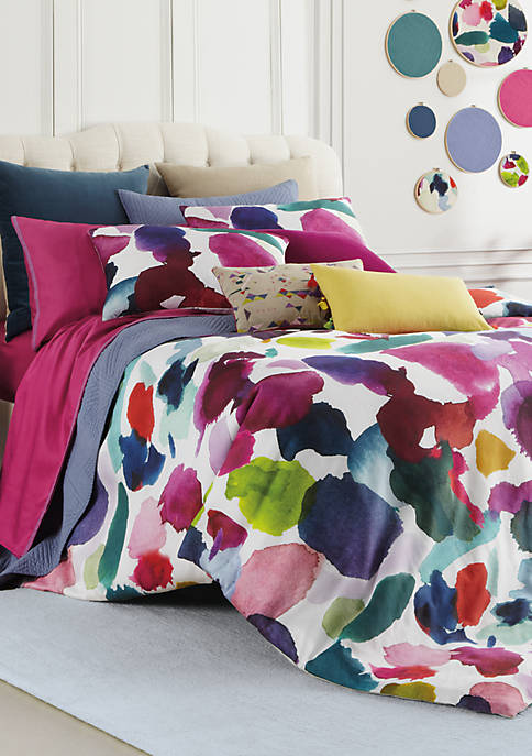 Abstract Full/Queen Comforter Set 92-in. x 96-in.