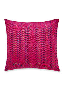 Lomond Esme Kantha Decorative Pillow