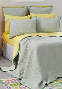 Fern Solid Coverlet