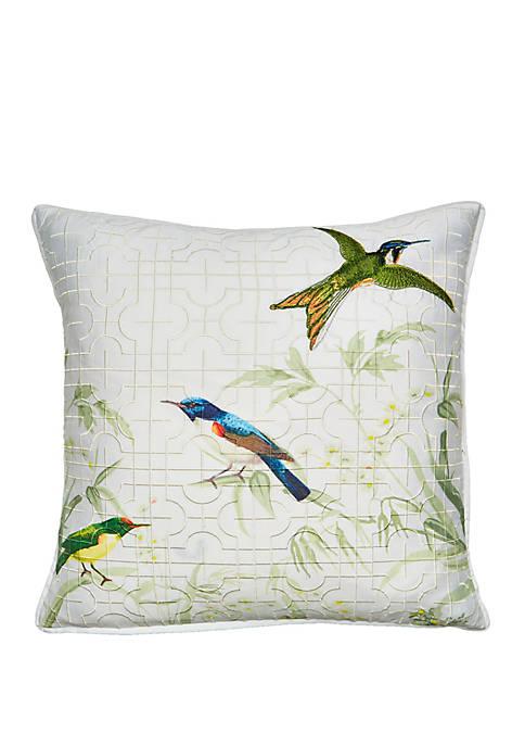 Fortune Allover Printed Decorative Pillow