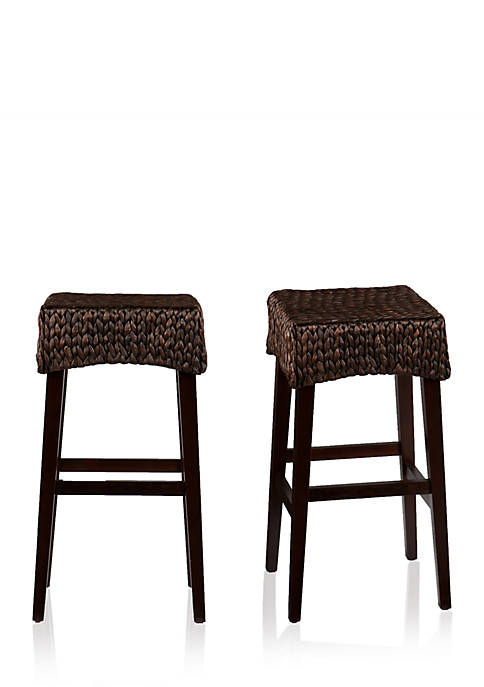 Southern Enterprises Pair of Folden Stools