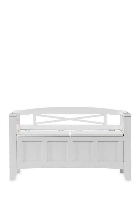 Southern Enterprises Cutler Storage Bench